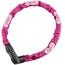 ABUS Tresor 1385 Cykellås pink